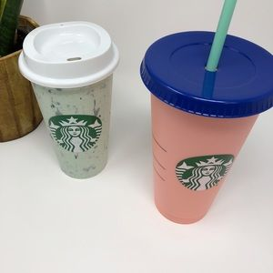 Starbucks Hot Cup and Cold Cup